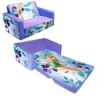 Disney Fairies Flip Open Slumber Sofa Babygiftsoutlet Com