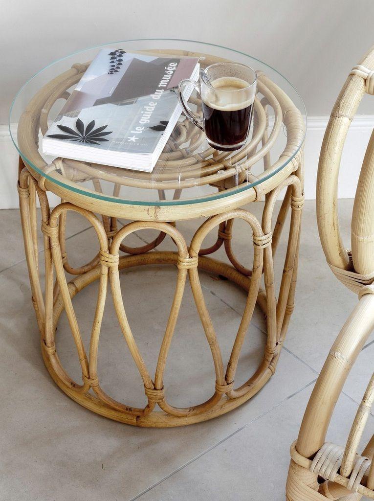 Ou Trouver Une Table Basse En Rotin Ronde Meubles