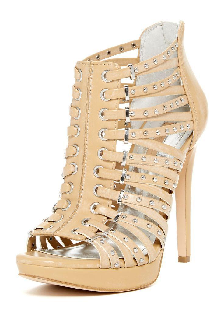 Gems and straps stiletto #heels