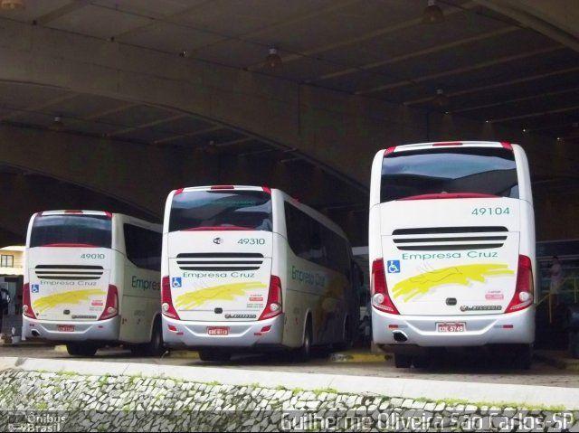Ônibus da empresa Empresa Cruz, carro 49104, carroceria Marcopolo Paradiso G7 1200, chassi Scania K340. Foto na cidade de São Carlos-SP por Guilherme Oliveira São Carlos-SP, publicada em 20/04/2015 16:59:01.
