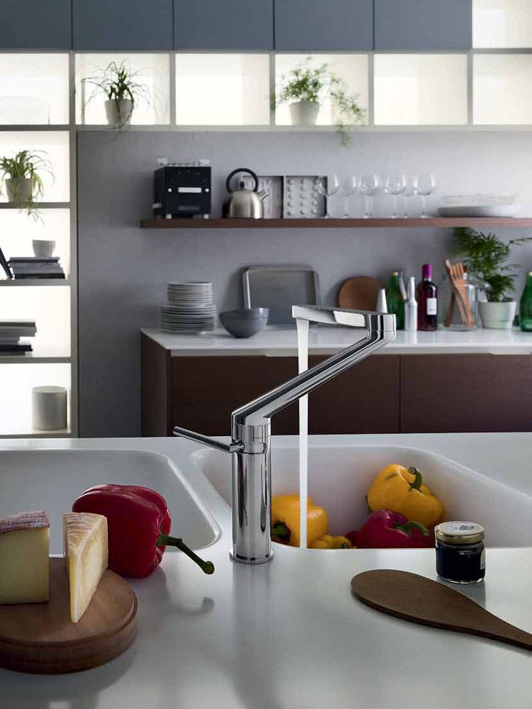 Rubinetti cucina: Miscelatore Zoom da Nobili | faucet | Pinterest ...