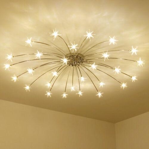 Star Meteor Glass Dandelion Led Chandelier Pendant Lamp Ceiling Lighting Light In 2020 Ceiling Lights Bedroom Ceiling Light Star Lights On Ceiling
