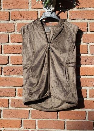 Kaufe meinen Artikel bei #Kleiderkreisel http://www.kleiderkreisel.de/damenmode/pullis-and-sweatshirts-hoodies/107432762-weiche-wohlfuhlweste-mit-kaputze-s-36-weste-kuschelweste