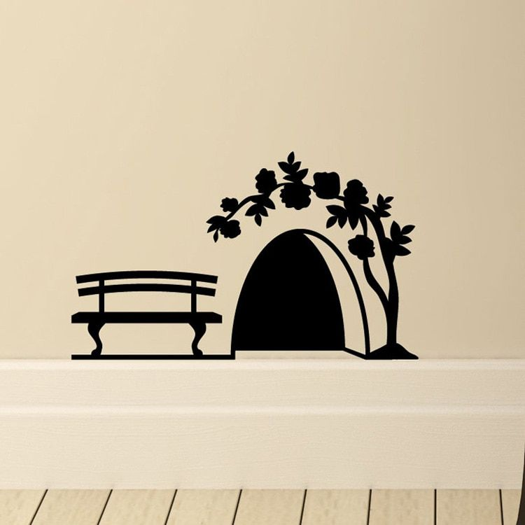 Cartoon Decals Decorative Stickers Mouse Hole Wall Murals PVC Wall Stickers