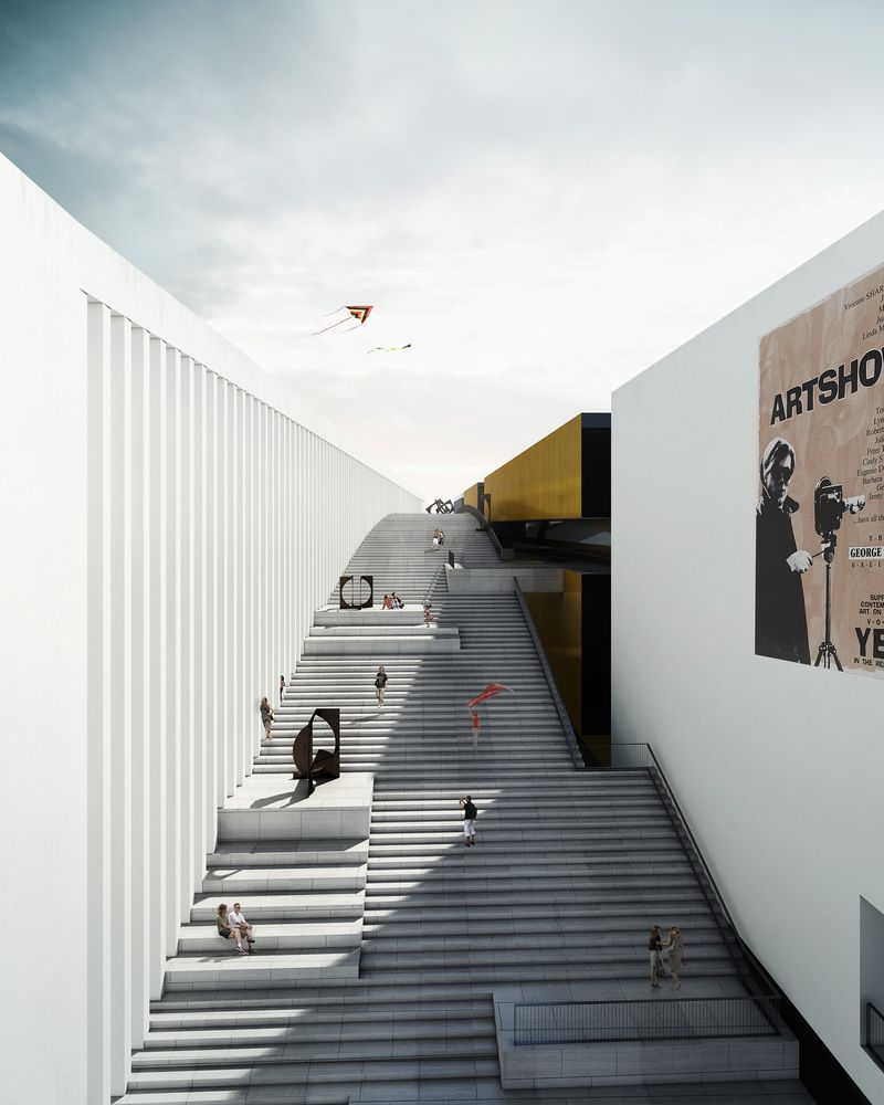 Gallery of biad 39 s proposal for shekou sea world culture for Bauhaus oficinas centrales