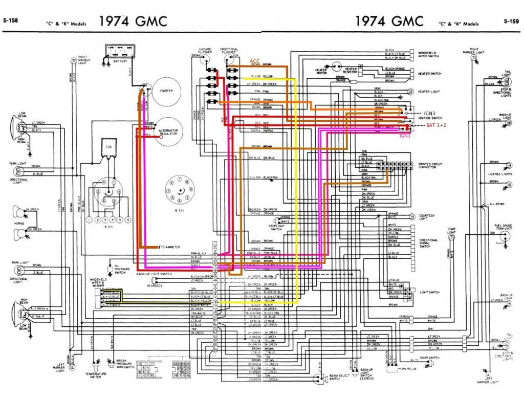 small resolution of 1973 chevy truck electrical schematics wiring diagram 1973 chevy truck electrical schematics