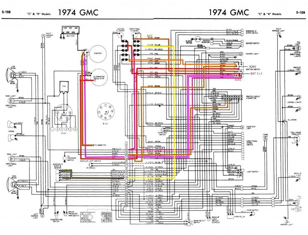 1973 chevy truck electrical schematics wiring diagram 1973 chevy truck electrical schematics [ 1024 x 782 Pixel ]