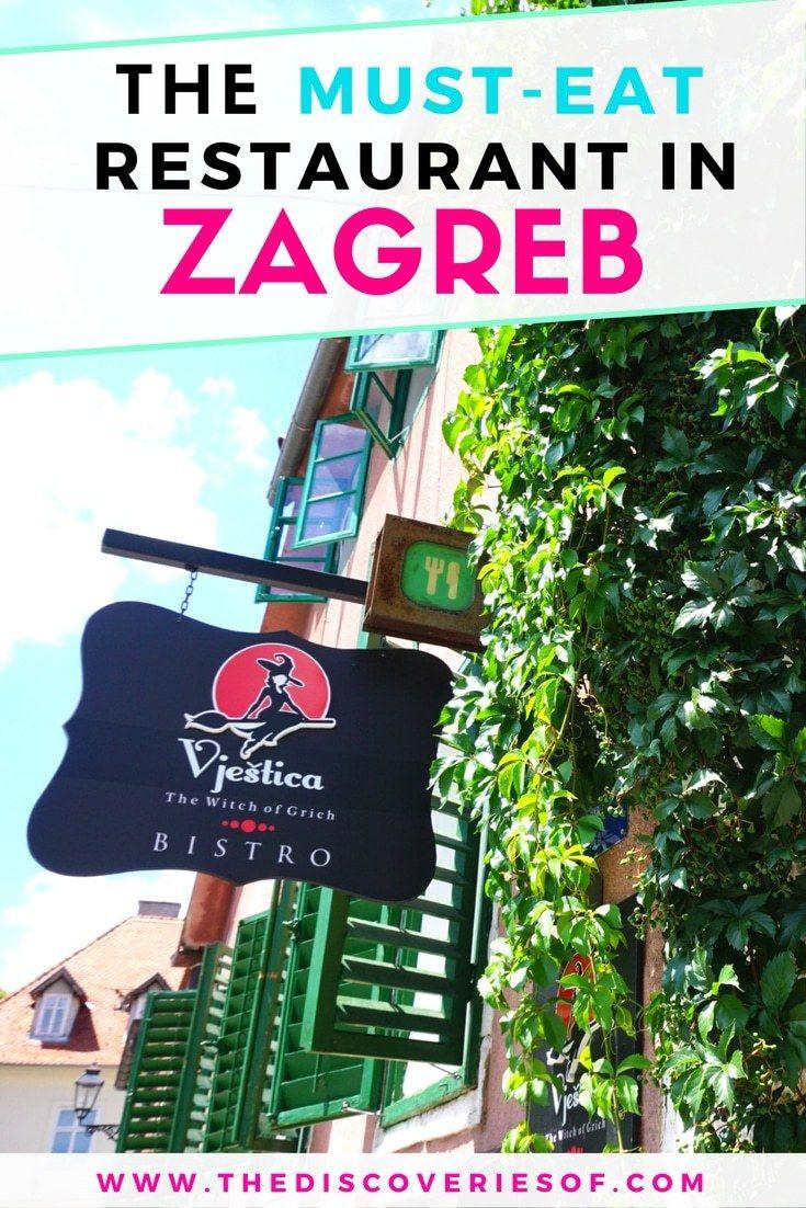 The Best Restaurant In Zagreb Croatia Hint The Locals Love It Too Croatia Travel Zagreb Croatia