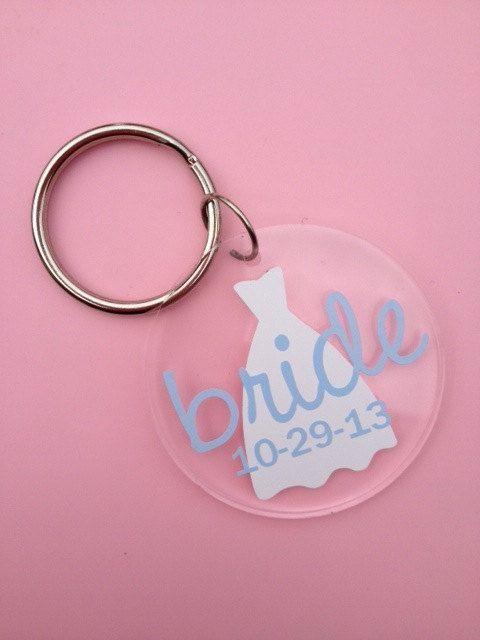 Monogram Bride Acrylic Keychain Things I Like