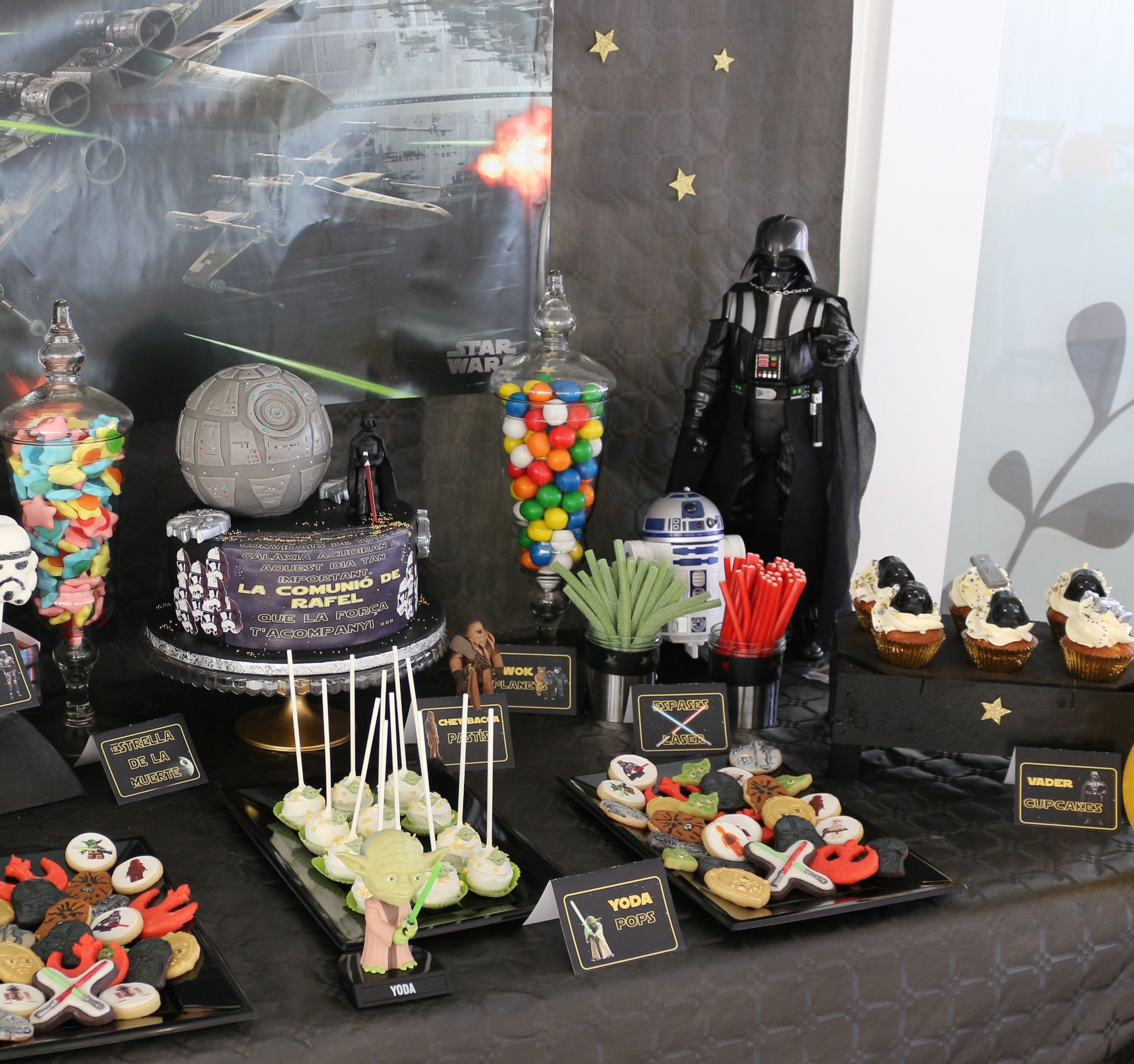 Sweet table star wars mesa dulce star wars by atelier for Decoracion star wars