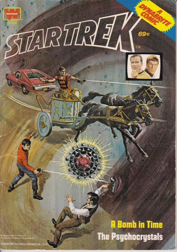 Star Trek #11358, edición 1976 - tebeos de Whitman - grado G/VG