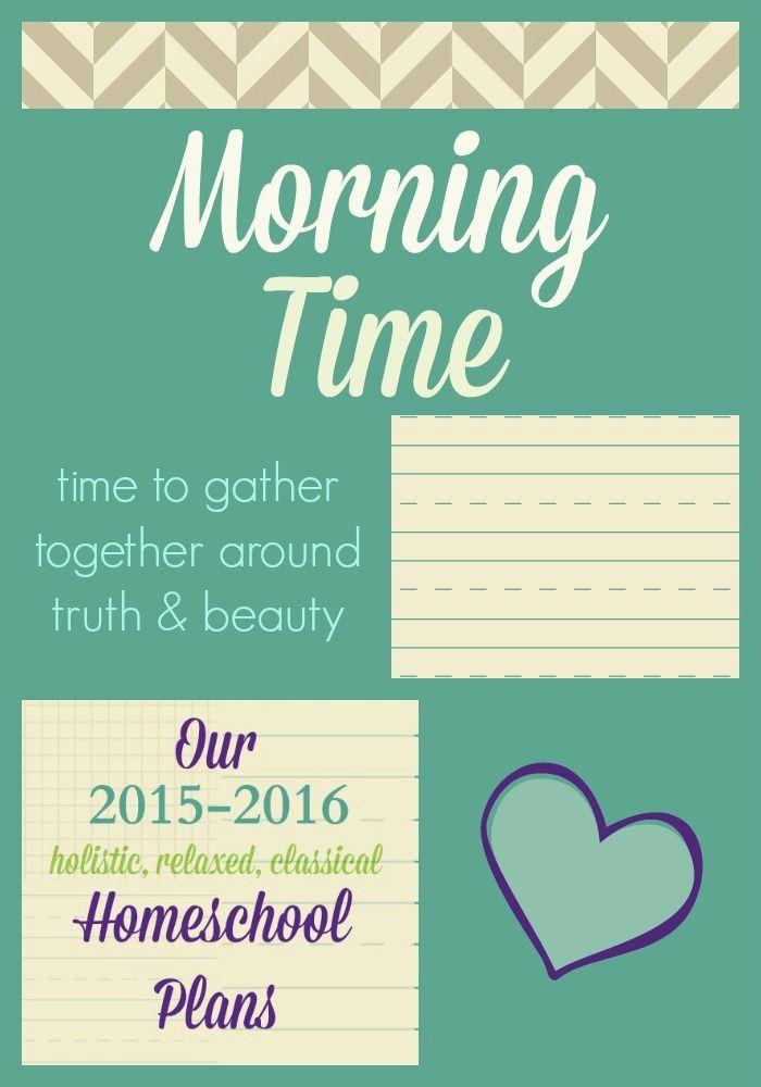 Homeschool Morning Time | Homeschool, Kindergarten and School