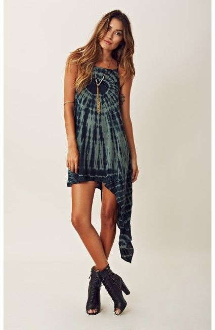 Blu Moon Asymmetrical High Low Dress