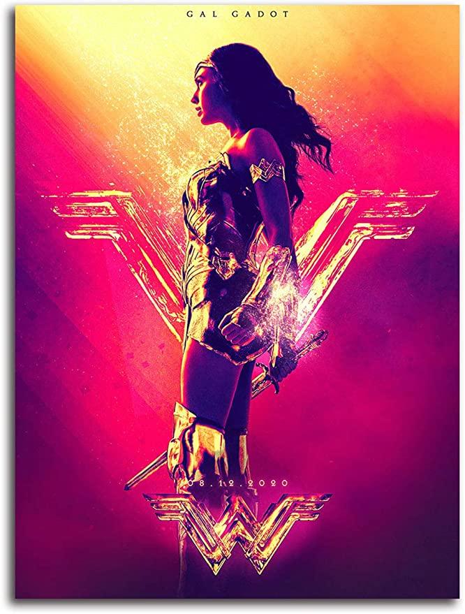 Amazon Com Aryago Wonder Woman 1984 Printed Wall Art Poster 24 X 36 Ww84 Poster Superhero Diana Gal Gadot In 2020 Wonder Woman Art Wonder Woman Wonder Woman Artwork