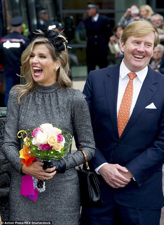 Queen Maxima Is In High Spirits As She Visits Former Mining Region Queen Maxima First Lady Queen