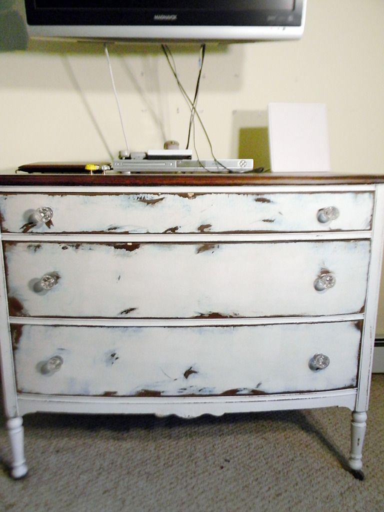 Old Dresser Shabby Chic