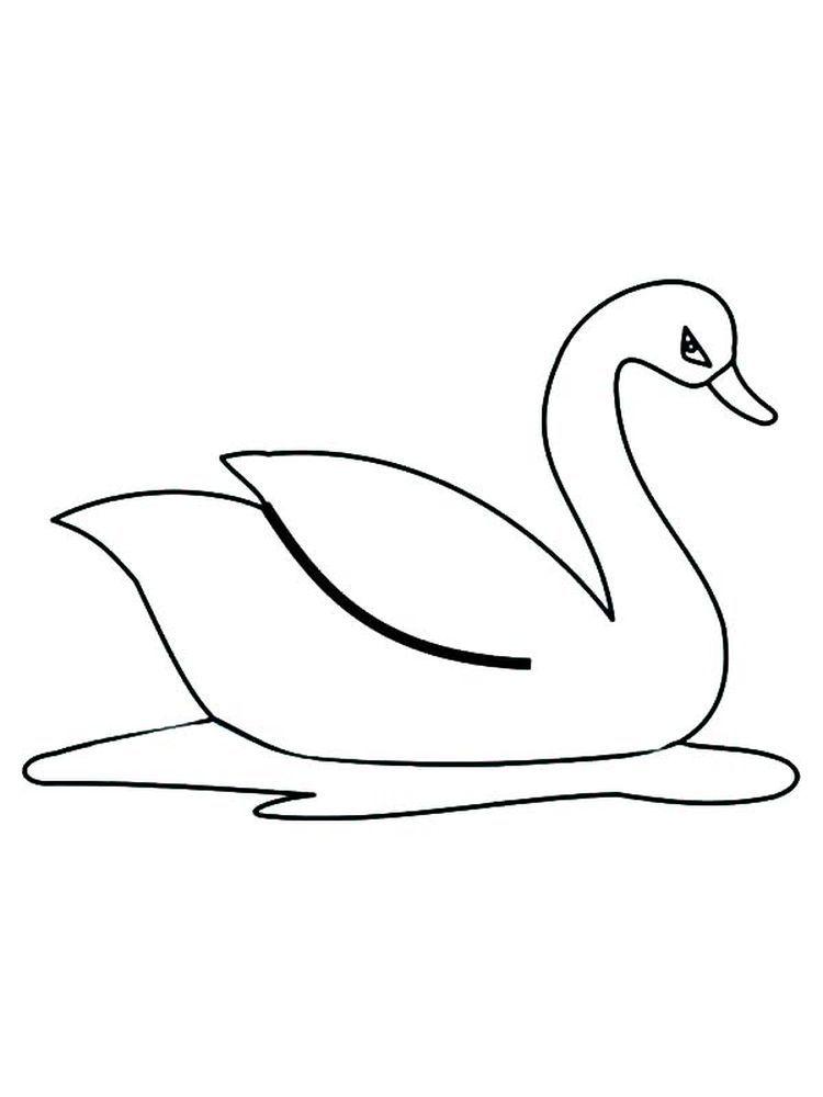Free Printable Swan