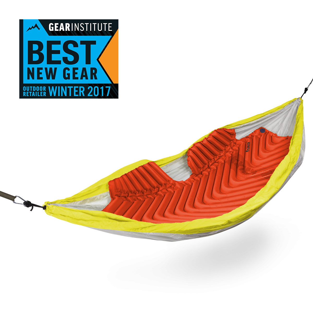 The insulated hammock v is the first air pad designed specifically