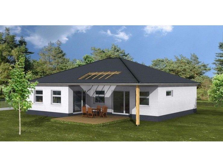 Harmonie wohnhaus bungalow 140 einfamilienhaus von 1a for Bungalow modern mit garage