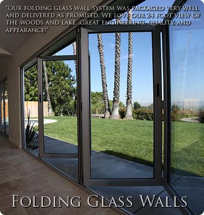 Solar Innovations Inc Folding Glass Walls Folding Glass Doors Glass Wall Systems Glass Wall