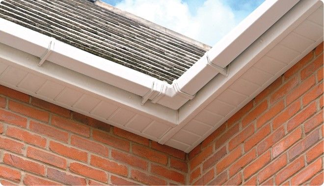 It Most Often Refers To The Material Forming A Ceiling From The Top Of An Exterior House Wall To The Ou House Exterior How To Install Gutters