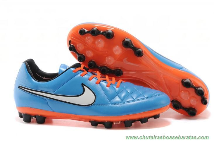Buy Nike Tiempo Legacy V AG Football Boots Cleats Blue Orange White Cheap  To Buy from Reliable Nike Tiempo Legacy V AG Football Boots Cleats Blue  Orange ...