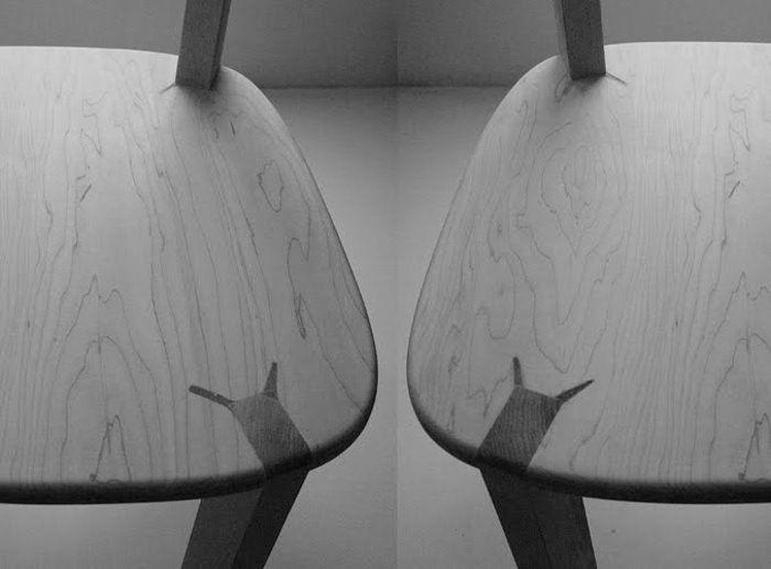 Rabbit Joint Chair design et détails par Ryan Yoon et Harc Lee #design #pin_it @mundodascasas Veja mais aqui(See more here) www.mundodascasas.com.br