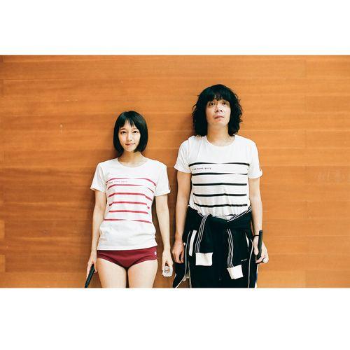 銀杏BOYZ】 GコードのボーダーTシャツ (赤弦) - UKFC ONLINE STORE ...