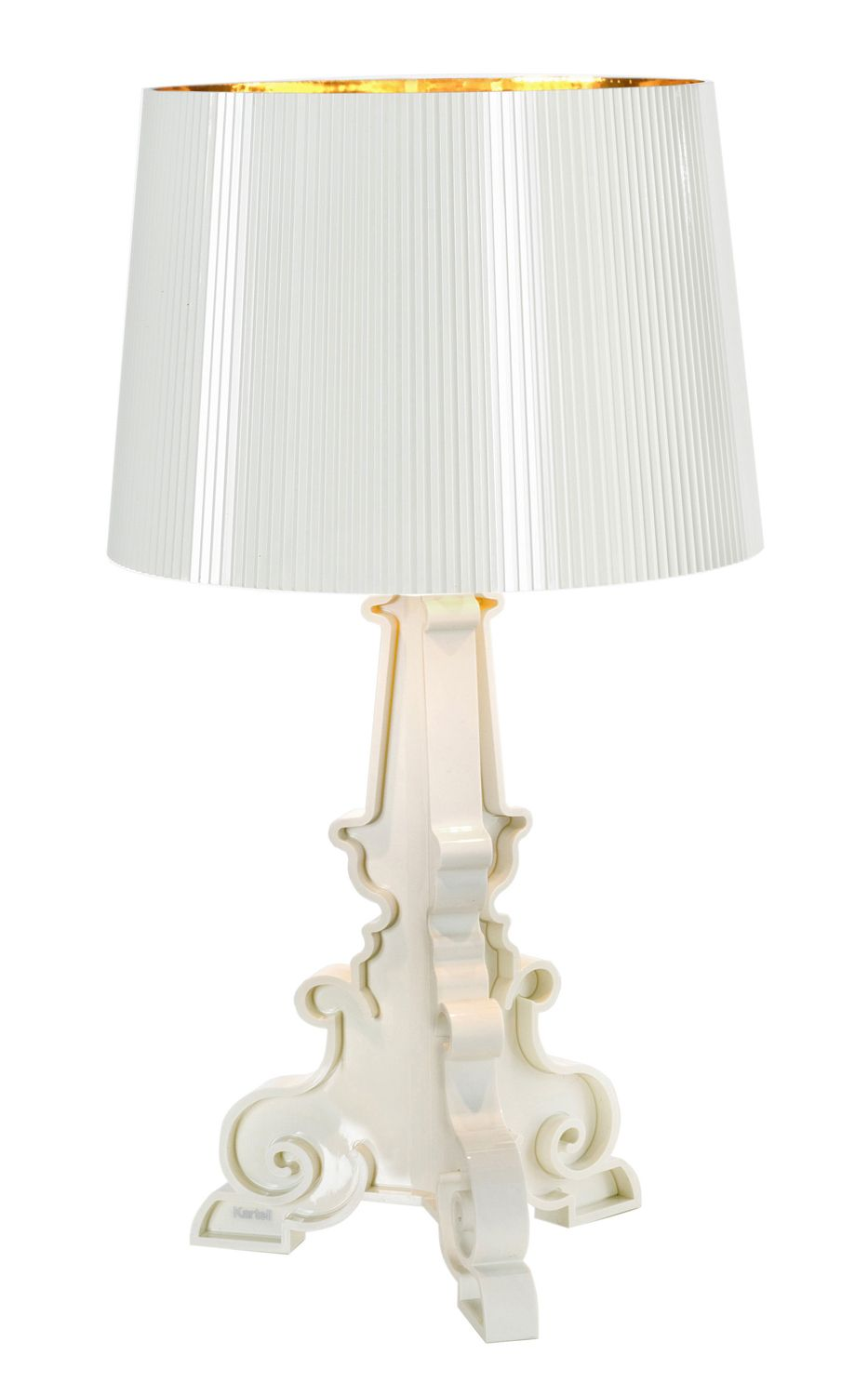 Heal's | Kartell Bourgie Lamp White by Ferruccio Laviani - Table Lamps - Lamps - Lighting