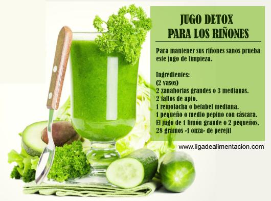 JUGO DETOX PARA LOS RIÑONES | Jugos & Smoothies (licuados
