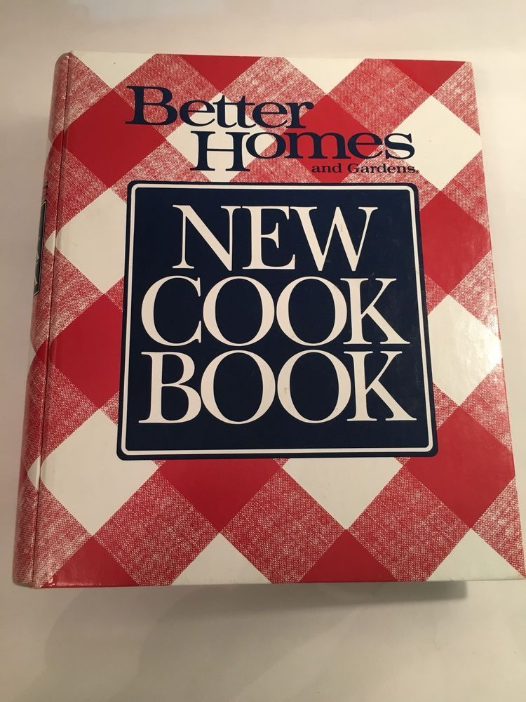 details about better homes and gardens new cookbook 1989 ring