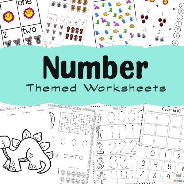 Free Printable Packs   Learning numbers, Fun printables ...