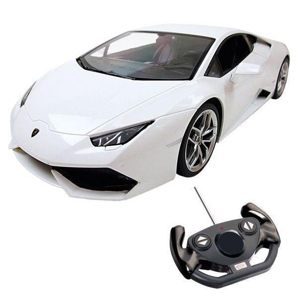 MONDO Voiture Télécommandée Lamborghini Huracan 1:14 Blanche #lamborghinihuracan MONDO Voiture Télécommandée Lamborghini Huracan 1:14 Blanche #lamborghinihuracan