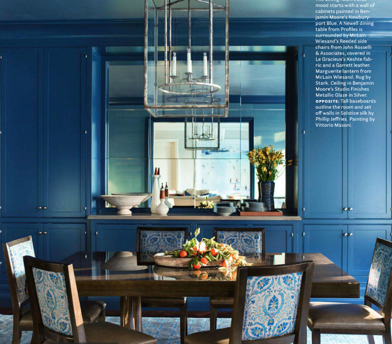 16 Absolutely Gorgeous Mediterranean Dining Room Designs: Splendid Sass: BUNNY WILLIAMS AND JOHN ROSSELLI