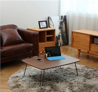 Folding Floor Table Low Oriental Tatami Japanese Style Laptop