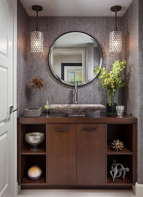 Elegant Powder Room Decorating Ideas Original Sink Wall Sconces Best Wall Sconces Bathroom Design Ideas