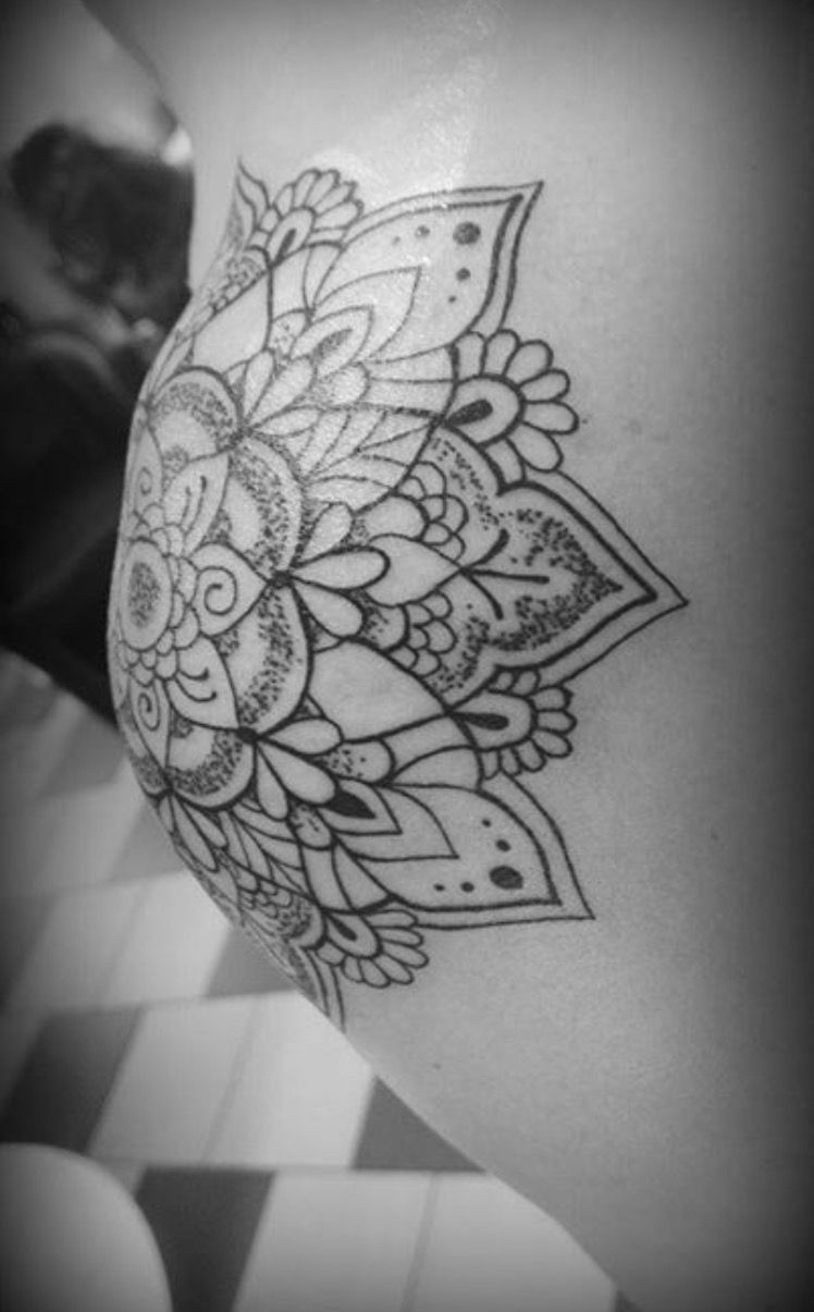 Shoulder Tattoo Mandala Mandala Tattoo