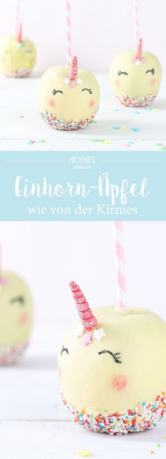 Einhorn Kirmesapfel – gratis Rezept zum Downloaden | Hussel Magazin