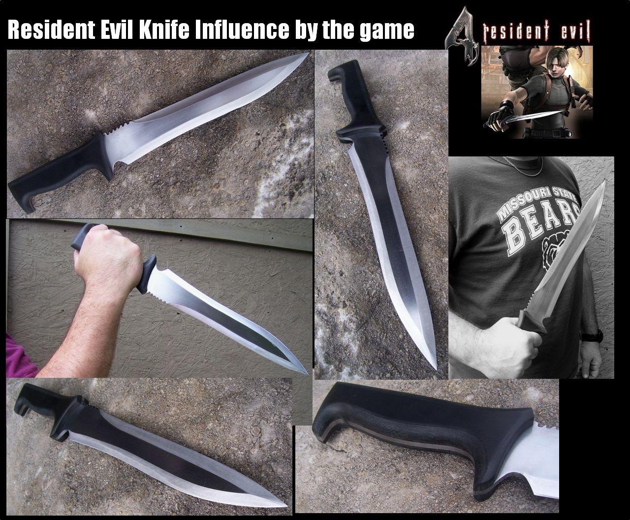resident evil 4 leon knife