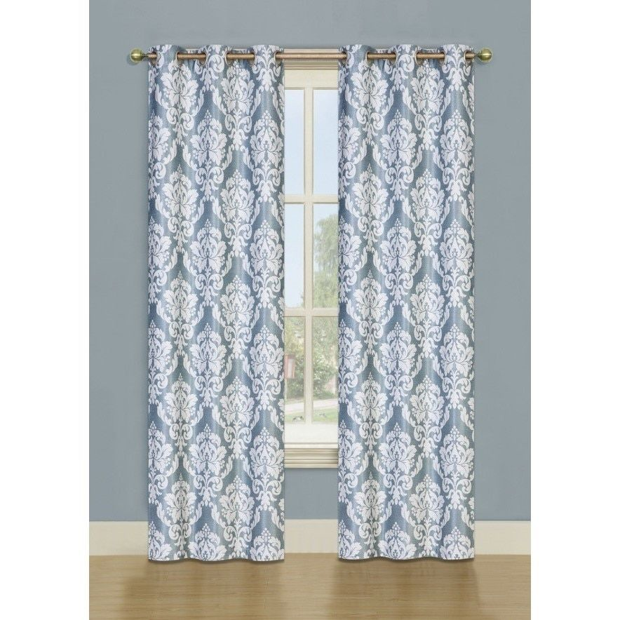 Ellen Tracy Majestic Window Curtain Panel