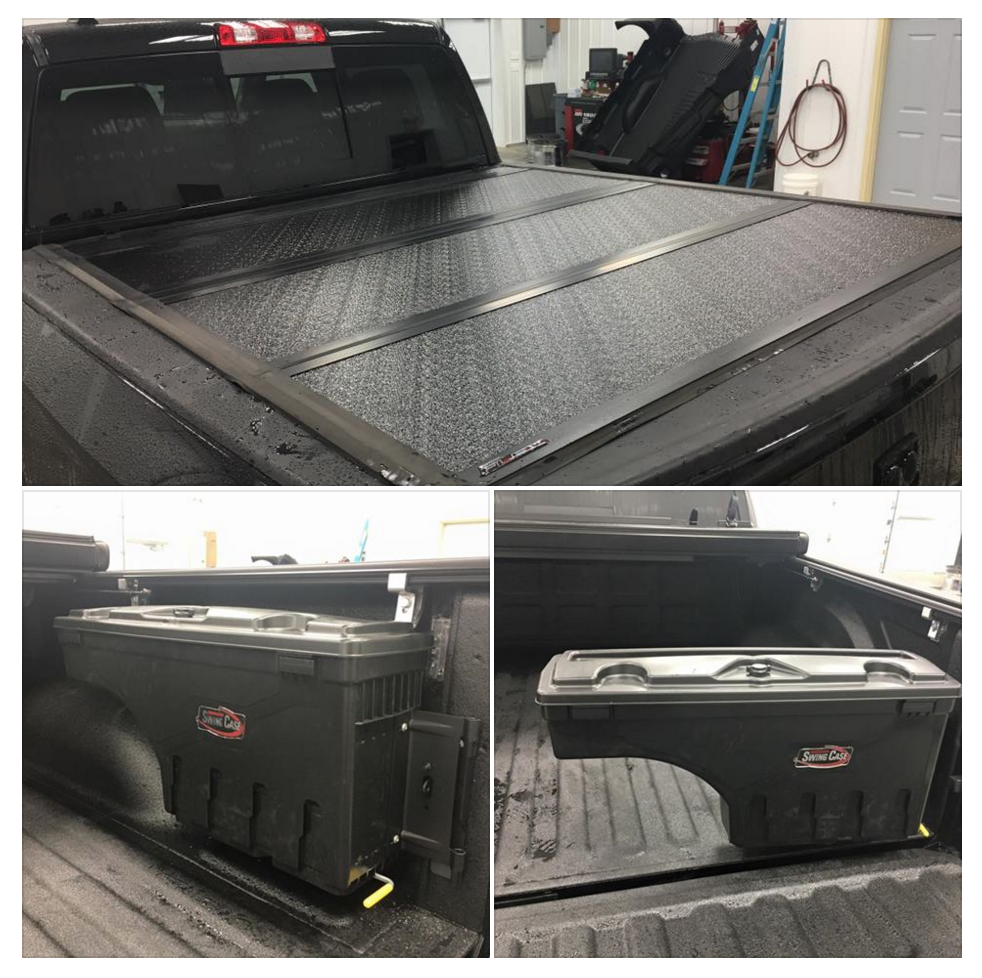 UnderCover Tonneau Covers fix this customer up with some