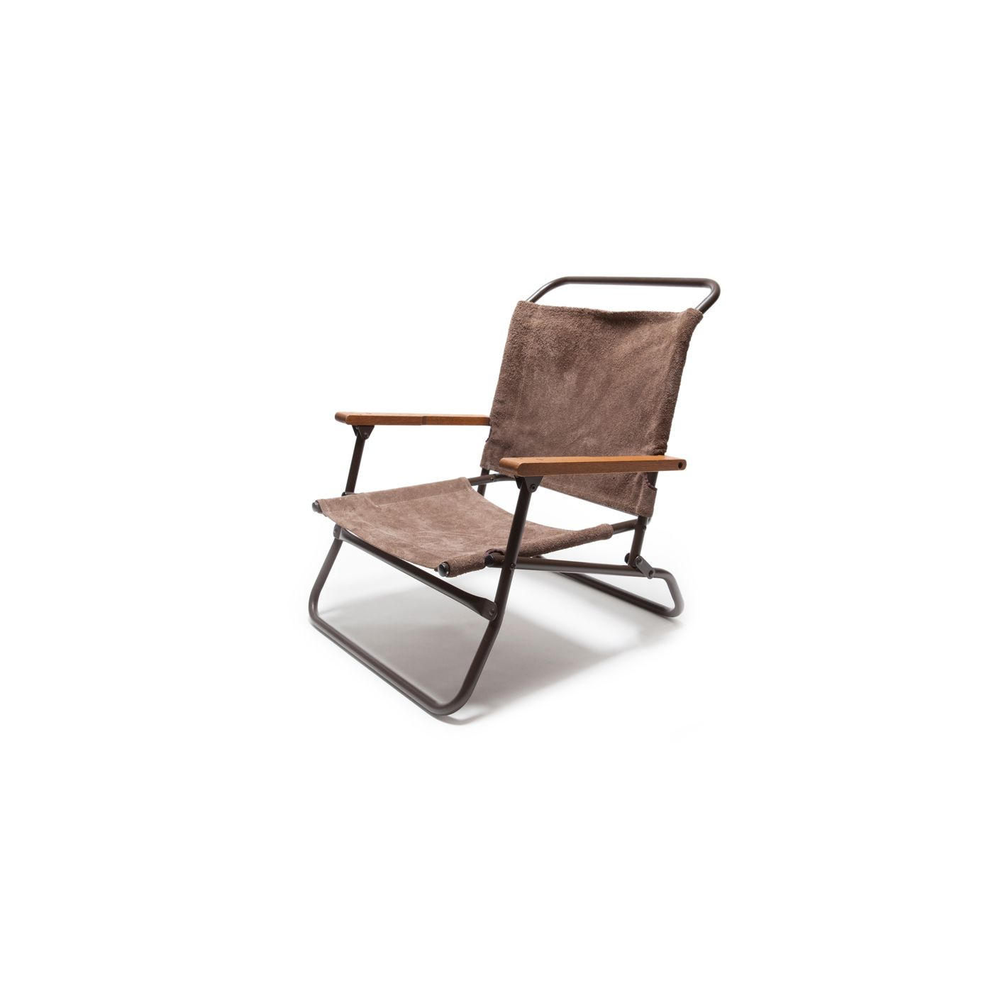 Hb 02353 Hobo Leather Low Camp Chair Props Camping