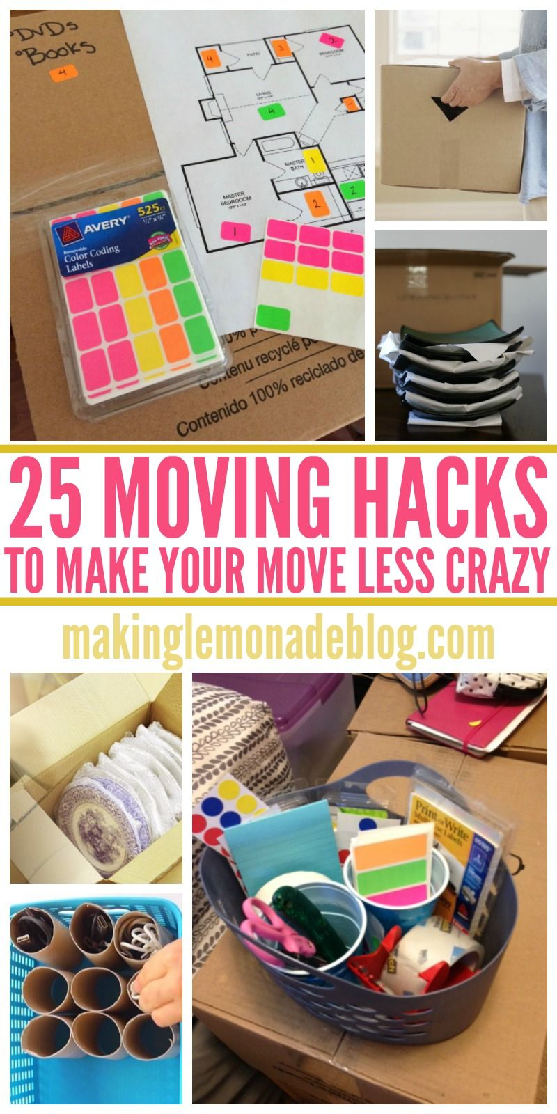 pinning these genius moving hacks and tips