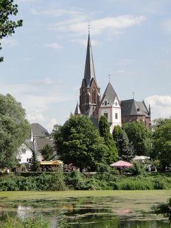 Blick Auf Den Groov Und Zundorf Bonn