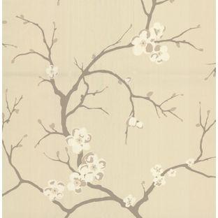 Homebase Uk Dulux Wallpaper Cherry Blossom Wallpaper Wallpaper