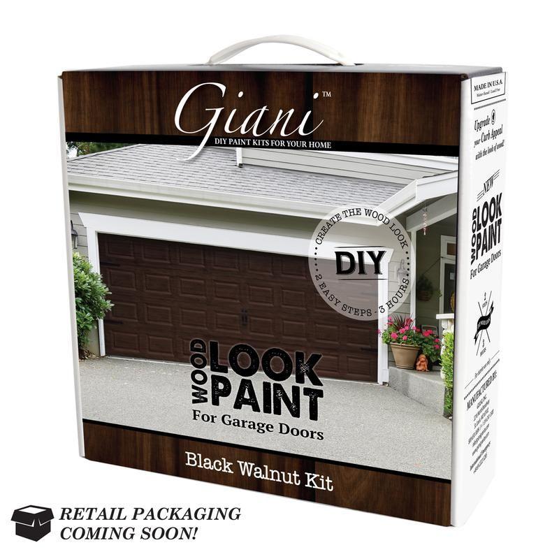 Giani English Oak Wood Look Kit For Garage Doors Garage Doors Garage Door Design Walnut Wood