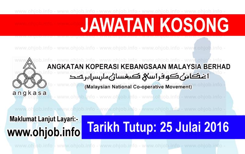 Jawatan Kosong Angkatan Koperasi Kebangsaan Malaysia