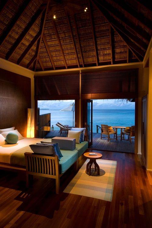 Resort 5 estrellas en las islas maldivas inside for Conrad maldives rangali island resort islas maldivas