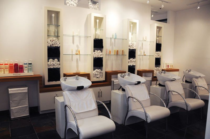 Woody michleb hair salon toronto on canada interior for Beauty salon designs for interior