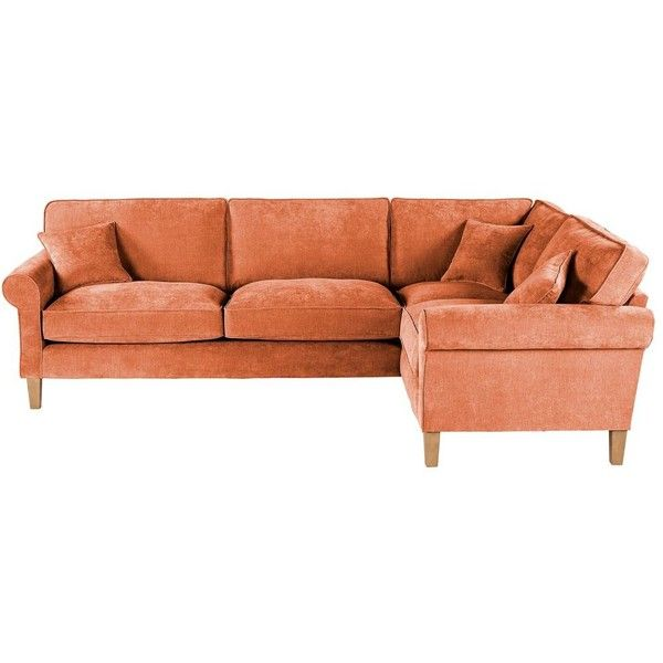 delta sofa debenhams petrie apartment velour right hand facing corner 1 135 liked on polyvore featuring home furniture sofas couch